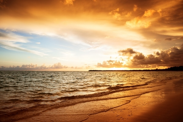 Enjoy the most scenic sunrise of Cancun.